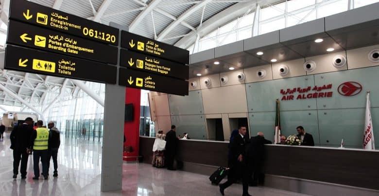 Aéroport d'Alger : le chiffre d'affaires baisse de 60% en 2020