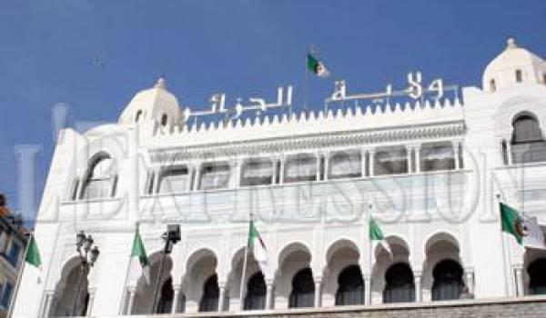 Alger : installation des nouveaux walis délégués