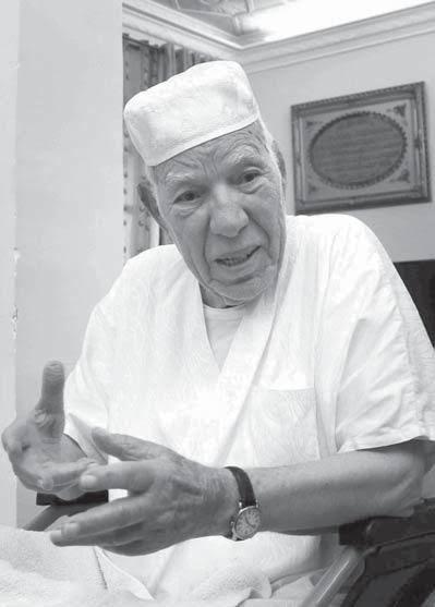 Décès de Abdelkader Lamoudi un des derniers membres du groupe des 22