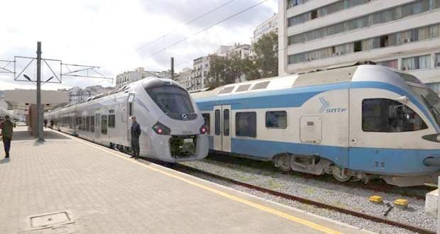 الشركة الوطنية للنقل بالسكك الحديدية تنفي عودة حركة القطارات