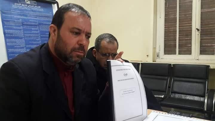 قاضي التحقيق يؤجل سماع نورالدين تونسي بسبب تدهور وضعه الصحي