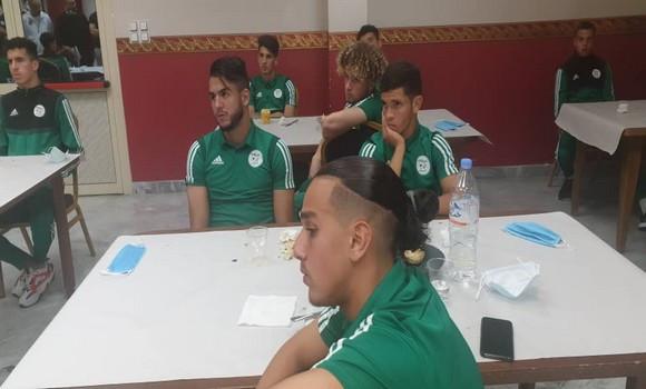 Equipe nationale: six joueurs des U20 positifs au Covid