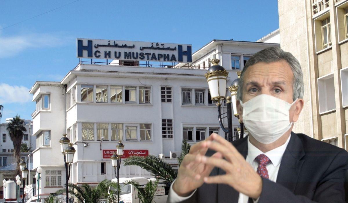 الجزائر: غلق مستشفى مصطفى باشا بسبب الضغط