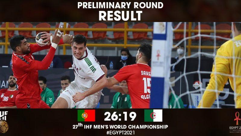 Championnat du monde de Handball : qualifiée au 2e tour, l'Algérie devra affronter la France