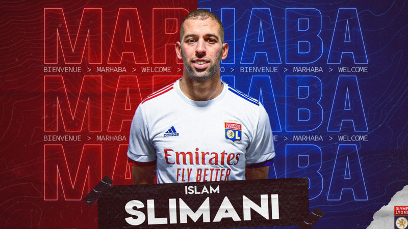 Islam Slimani rejoint Djamel Belamri à l'Olympique Lyonnais