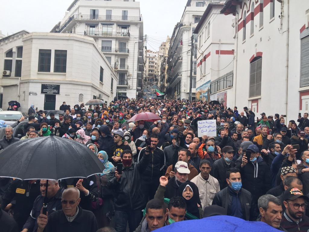 الذكرى الثانية للحِراك: الآلاف في الشوارع والسلمية تطّغى على المسيرات