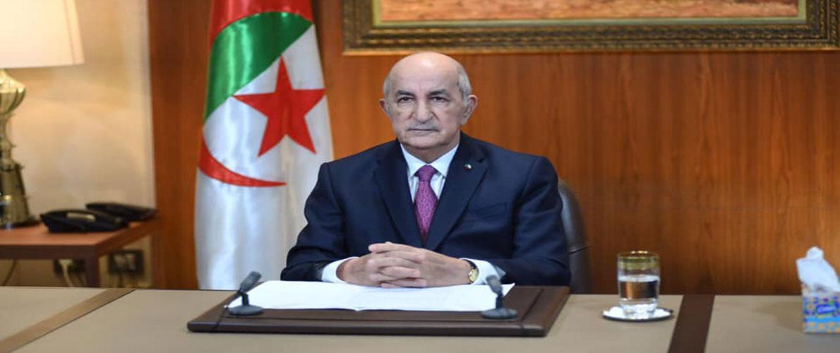 Tebboune préside dimanche la réunion périodique du Conseil des ministres