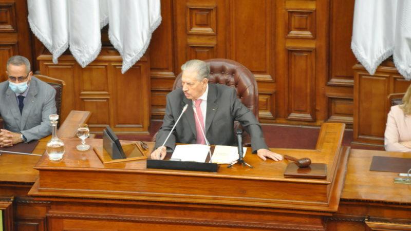A 91 ans, Salah Goudjil intronisé président du Conseil de la nation