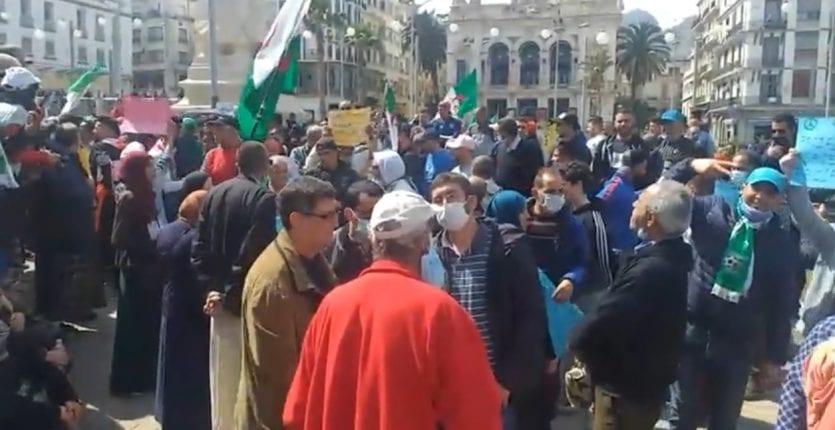 Vidéo : un 110e vendredi du Hirak sous le signe de la répression à Oran !