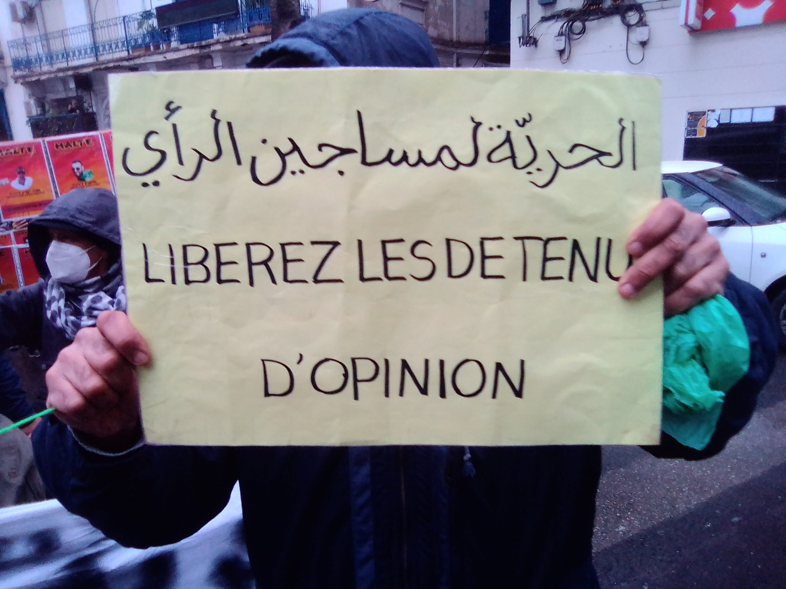 Vendredi 113 : La rue  mobilisée pour la libération des détenus d'opinion