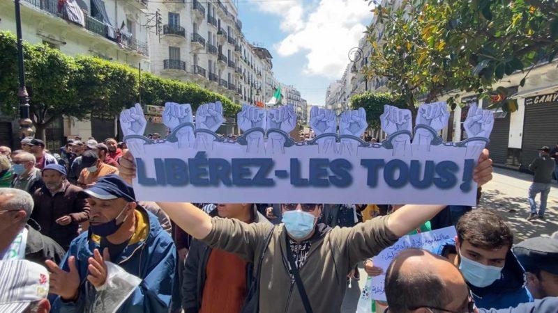 le Hirak solidaire avec les détenus en grève de la faim depuis 17 jours