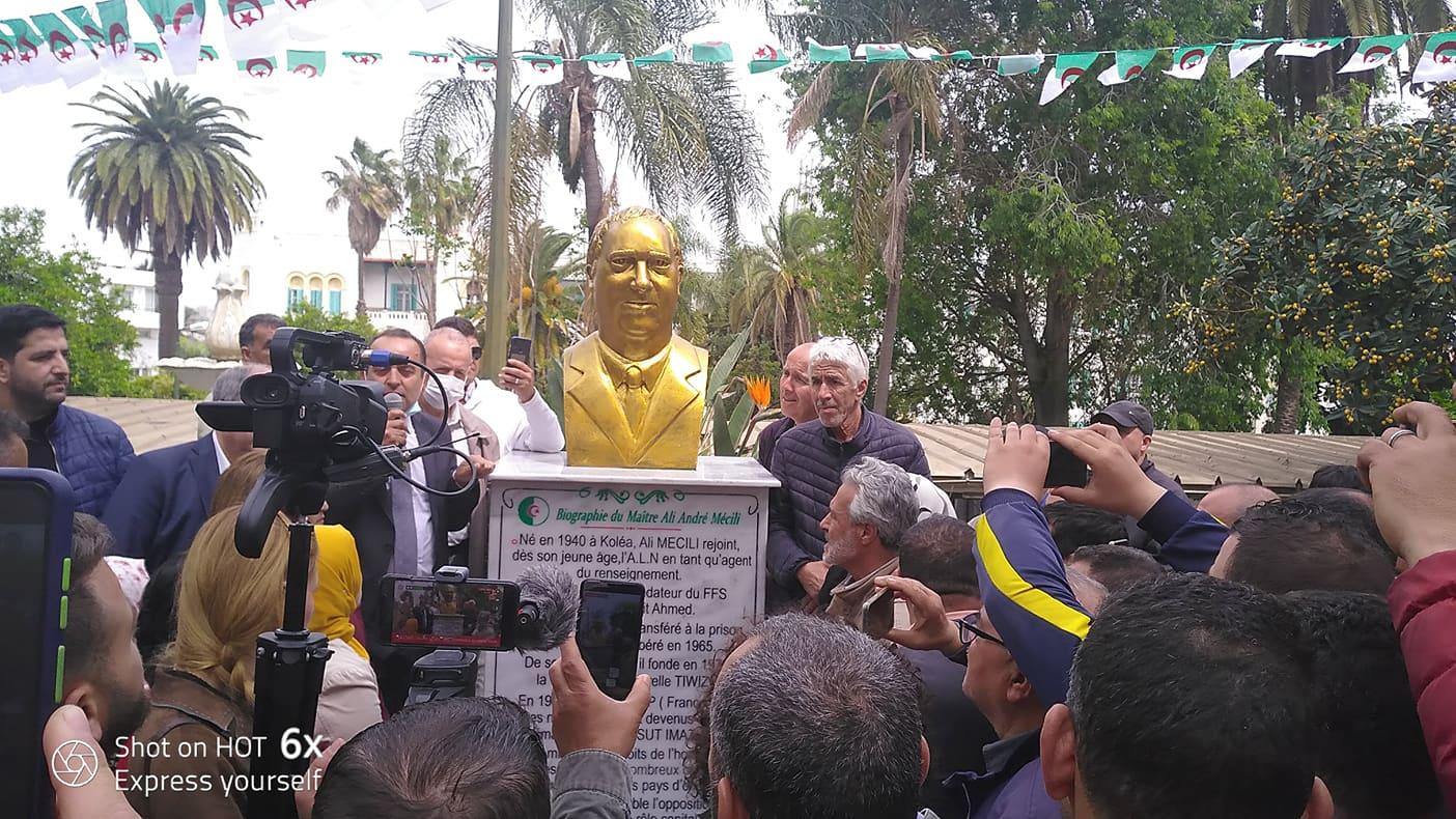 In memoriam Ali Mecili : le FFS immortalise l'alter égo de Ait Ahmed par une stèle