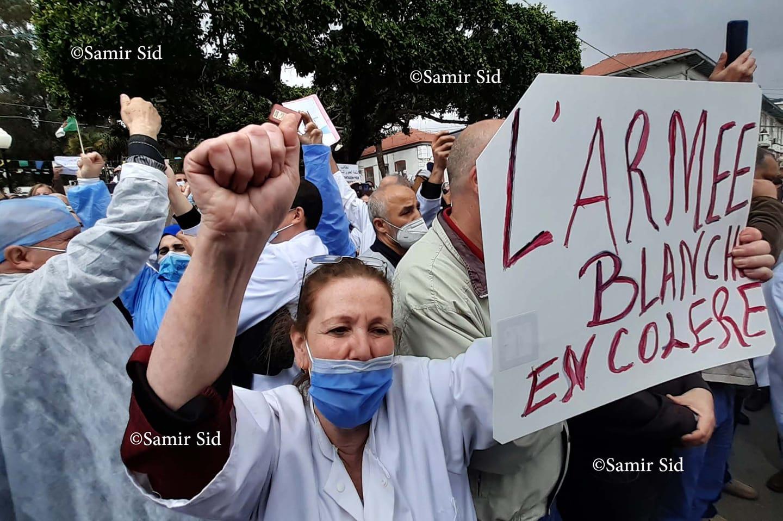 Les professionnels de la santé entament une grève nationale d'une journée