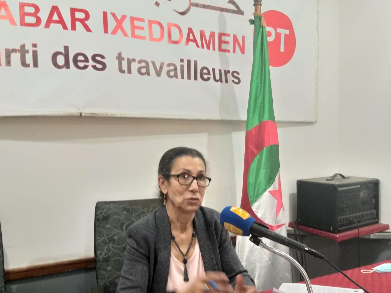 Le CC du parti des travailleurs réaffirme le rejet de la restitution du mandat de Louiza Hanoune