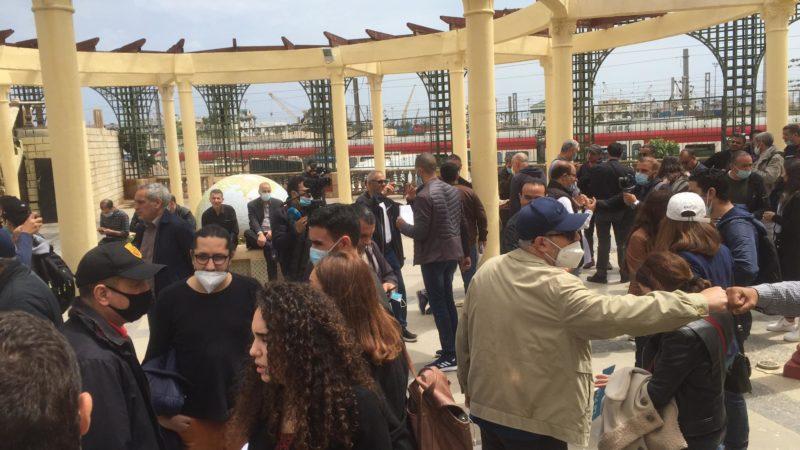 En vidéo : des journalistes commémorent la journée de la liberté de la presse à Alger sur fond de lutte pour la libération de Rabah Kareche