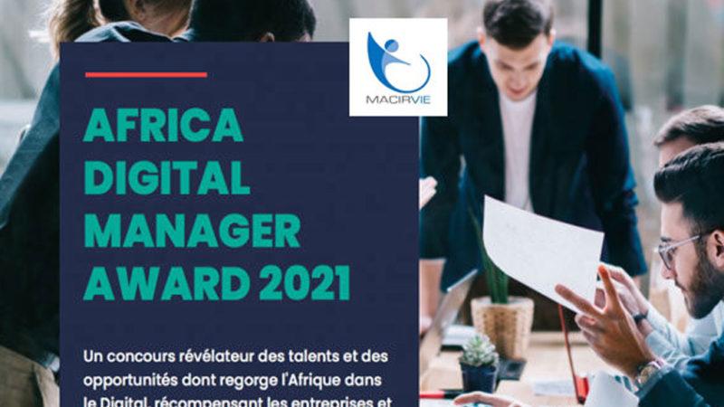 Africa Digital Manager Award : Macir Vie parmi les finalistes