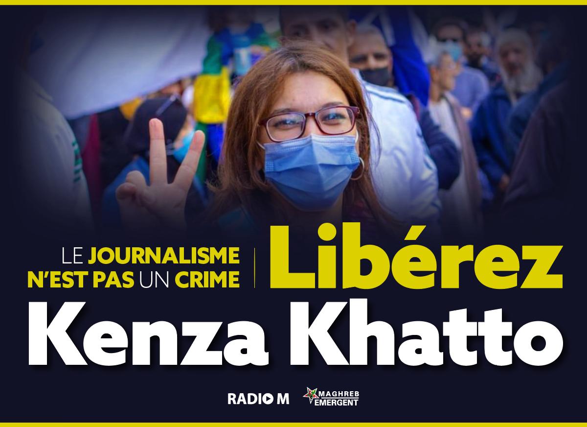 La garde à vue de Kenza Khattou est une violation du droit (Communiqué de Radio M)