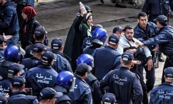 Urgent : Plusieurs manifestants arrêtés à Alger à la fin de la marche