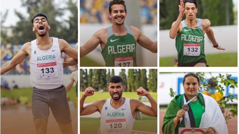 Championnat Arabe: Bouzebra, Lahoulou, Triki, Bourrada et Gouaned en or