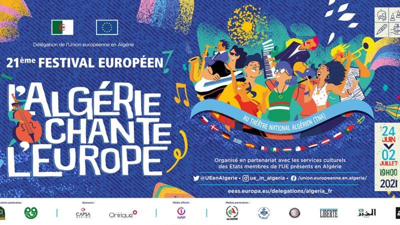 «الجزائر تُغنّي أوروبا» بدايةً من 24 جوان المقبل