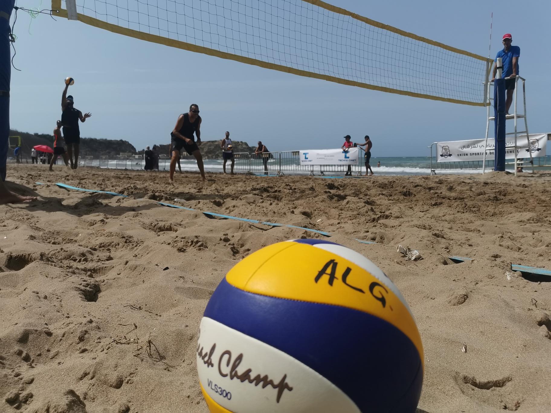 Sports de plage : le tournoi national de Beach Volley de Cherchell consacre «l'esprit Coubertin» de la ville !