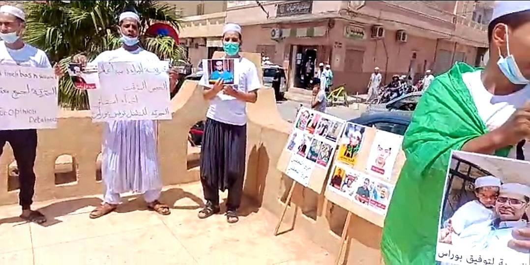 غرداية: اعتقال نشطاء طالبوا باطلاق سراح المناضل توفيق بوراس