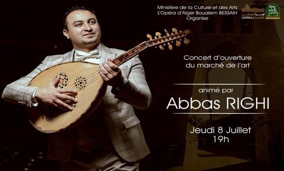 Epoustouflant malouf de Abbas Righi hier à Alger