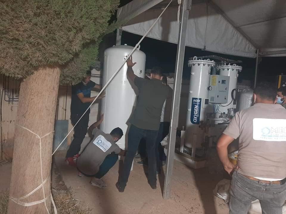 Bénévolat : des hôpitaux dotés de générateurs d'oxygène médical