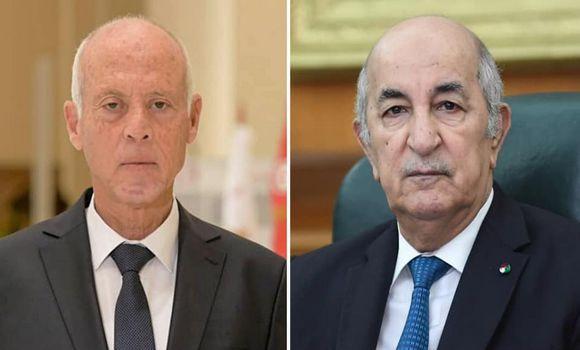 Crise en Tunisie : Tebboune reçoit un appel de Kaïs Saïed