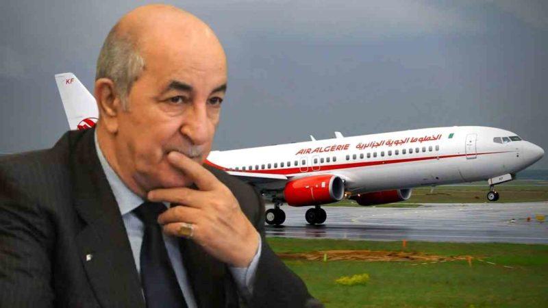 Fréquence des vols internationaux : un député interpelle Tebboune sur de nombreux points