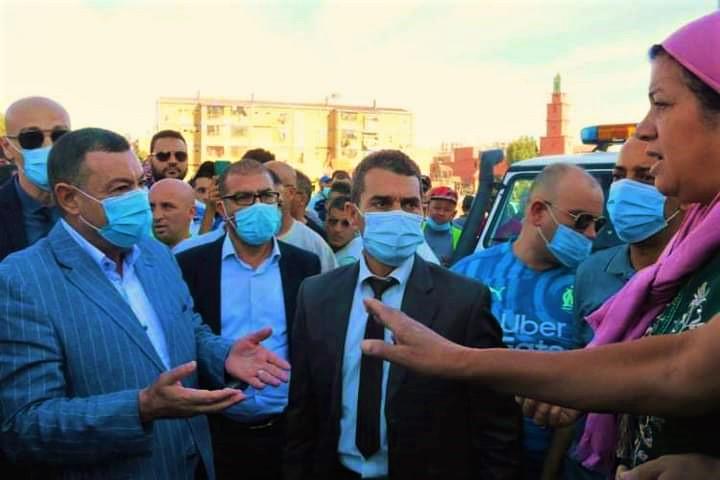 وهران: سكنات وضع حجر أساسها تبون كوزير سكن لم تسلم بعد لأصحابها