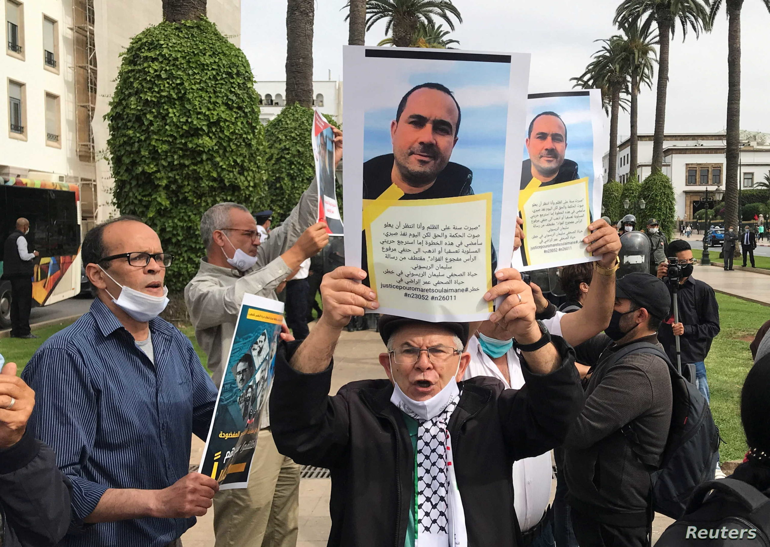 المغرب:  الصحفي سليمان الريسوني أمام محكمة الاستئناف الأسبوع المقبل