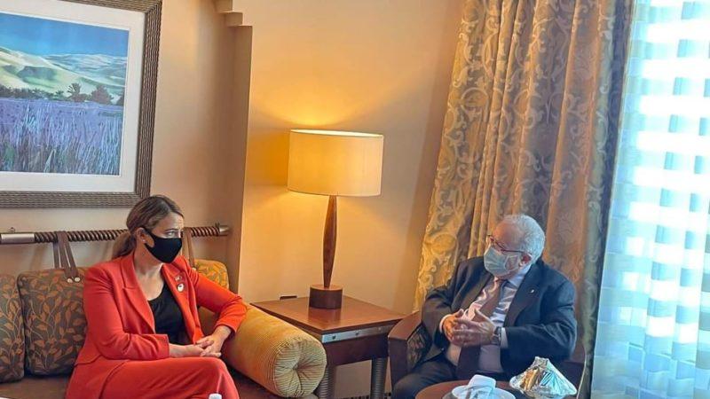 Dossiers régionaux : Lamamra tient une série de rencontres à Tripoli