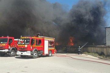 Oran : explosion à la zone industrielle d'Arzew